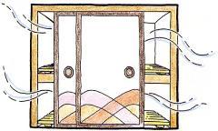 La imagen que ventila el armario
