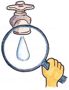 La imagen que maneja el agua