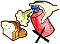 La imagen que no debe colgar una droga al pan