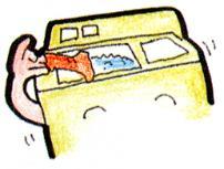 Imagen para lavar la ropa con una lavadora