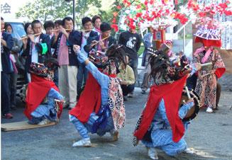 Baile del león de Ushigome
