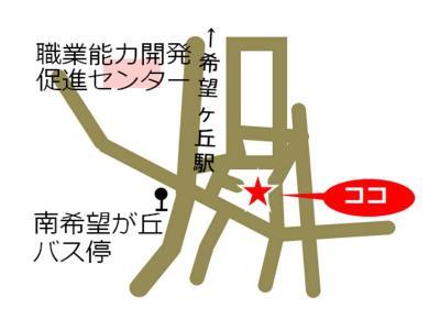 Minamikibogaoka, Yokohama-shi comunidad cuidado plaza mapa