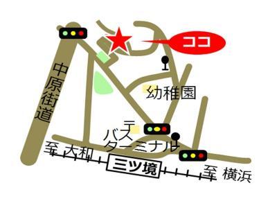 Sasanodai, Yokohama-shi comunidad cuidado plaza mapa