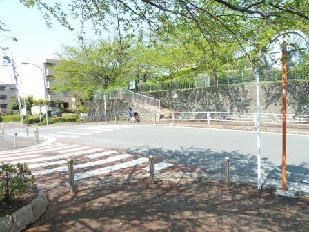 Photograph of the walking course middle