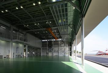 요코하마 헬리포트 격납고 개축공사