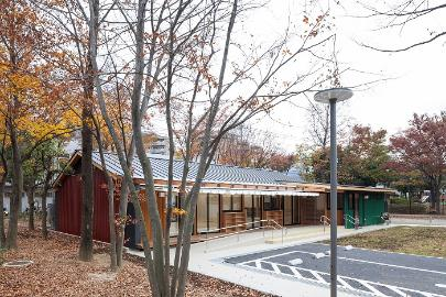 에다니시 커뮤니티 하우스 정비 공사에 따른 설계