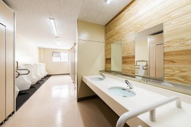 아키바 초등학교 화장실