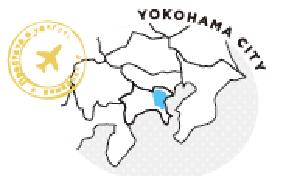요코하마시의 지도
