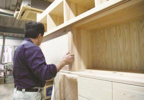 State that housing part craftsman adjusts housing part to