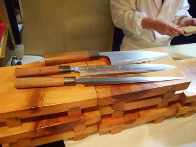 Kitchen knife of Masamichi Nakamaru Meister