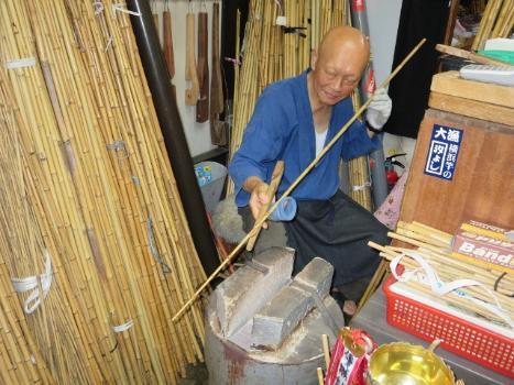 State of work of Yoshiyuki Hayasaka Meister