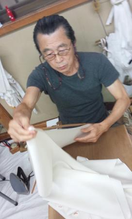 State of work of Koji Mizumori Meister