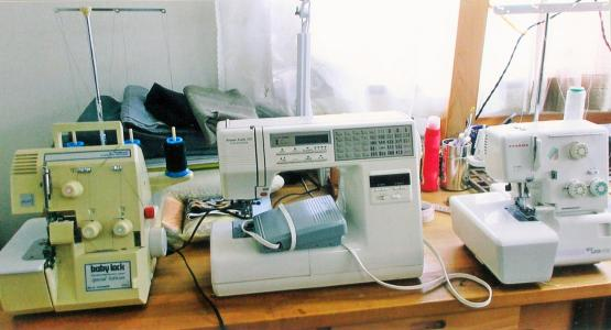 Sewing machine of Toshiaki Tanaka Meister