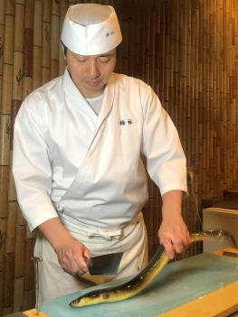 State of work of Eiji Yamashita Meister