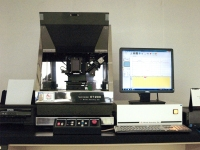 The appearance of the probe-type surface shape measuring machine