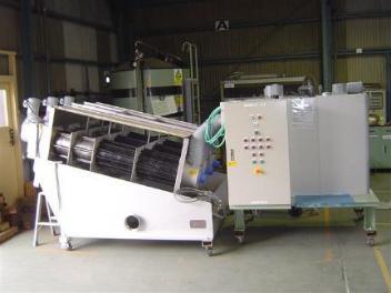 Image of big picture of sludge dewatering processor