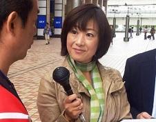 Photograph of reporter Rii Iwasaki