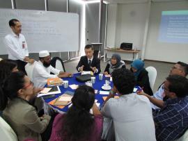 쿠알라룸프루에서 개최된 세미나에 요코하마시 직원을 파견한 사진