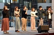 Yokohama City University a cappella performance