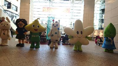 University Festival 2019 mascot character
