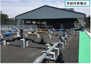 Duct line training facility