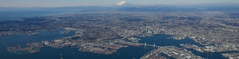 橫濱港全景