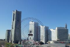 Scenery around Minato Mirai