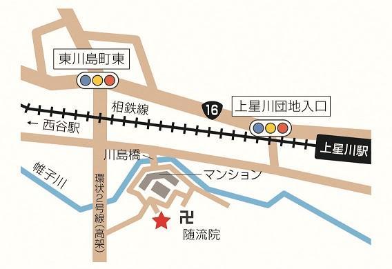 川島地區關懷廣場周邊地圖