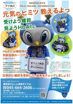 HbA1c 설명 광고지