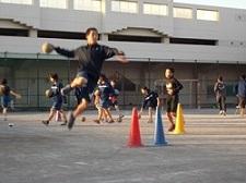 岩崎中學手球部(練習風景)