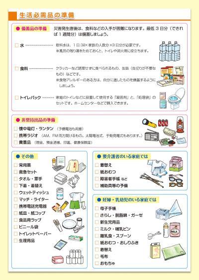 Un producto del almacenamiento o el transporte fuera producto que se publica en el Hodogaya Pupilo desastre prevención mapa