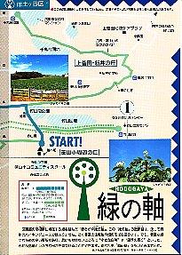 초록의 축 산책 맵의 이미지