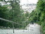 계단 정상으로부터의 전망 사진
