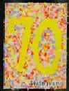 Trabajo del número de la cuenta atrás 70 Morihigashi la Escuela Elemental