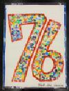 Trabajo del número de la cuenta atrás 76 Yokodai-Daiichi la Escuela Elemental