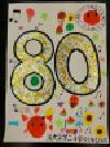 Trabajo del número de la cuenta atrás 80 Yokodai-Daini la Escuela Elemental