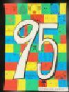 Trabajo del número de la cuenta atrás 95 Yokodai-Daiyon la Escuela Elemental