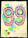 Trabajo del número de la cuenta atrás 99 Escuela de Higashi-Takigashira Guardería