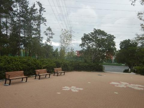 샘 받침대 공원