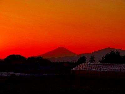 """""""Un ocaso de Montaña Fuji"""""""