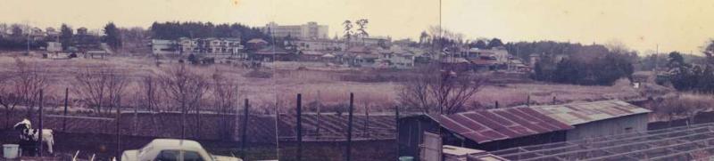 현 이즈미구 관공서 소재지 사진(1974년 촬영)