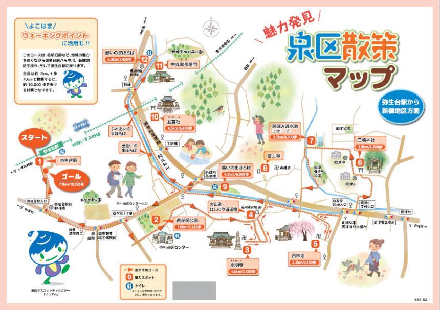 Es el Shimbashi el área distrito del mapa del paseo Estación de Yayoidai