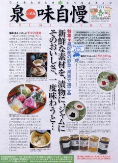 Izumi pride 2008 summer issue