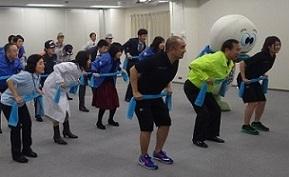 健康經營企業支援體操DVD職員體操風景