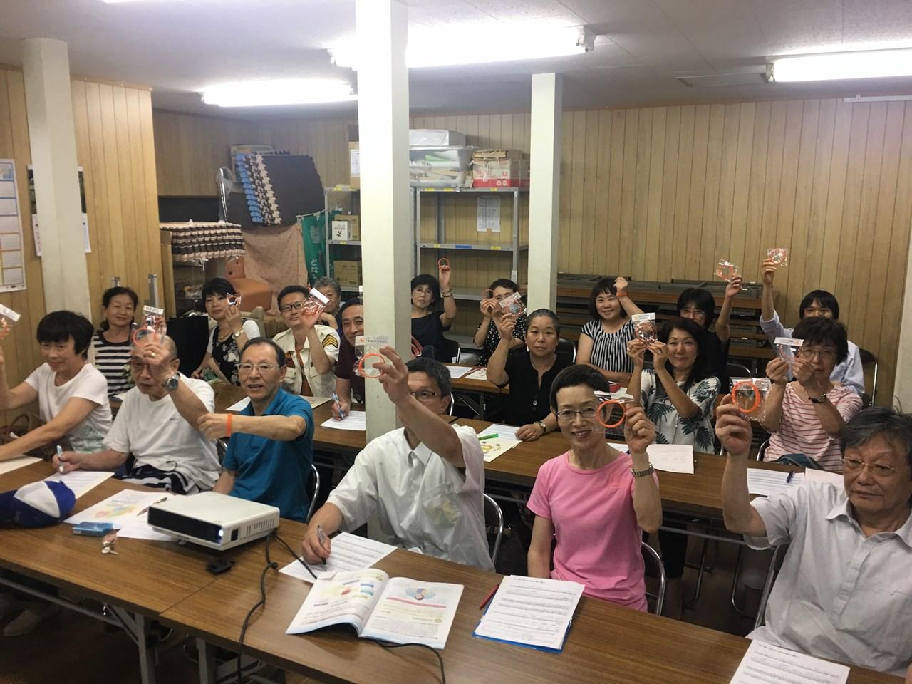 State of dementia supporter training course of Rokukakubashi mall