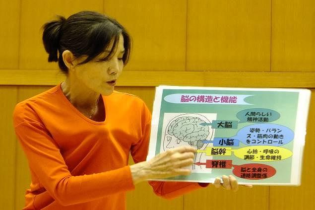 Lecture by Shigeko Takagaki