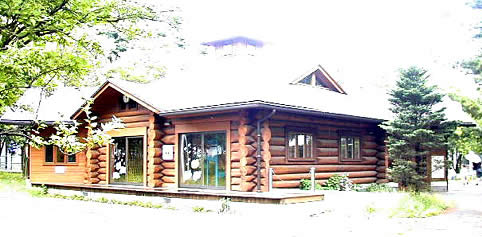 Yahata, Tomioka Park child log house building image