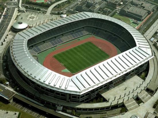 Photograph of Yokohama International Stadium