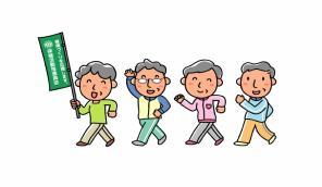 Member of health practice promotion illustration