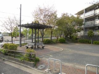 Fotografía 1 del parque con hinoki de Hiyoshihoncho